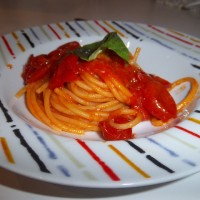 Piccole cose (spaghetti al pomodoro)