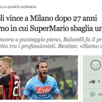 da http://www.corriere.it/sport/calcio/serie-a/2013-2014/notizie/giornata-4-milan-napoli_8c904ff0-23c7-11e3-8194-da2bd4f2ffa4.shtml?fr=box_primopiano