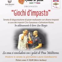 """Il 20 febbraio alla pizzeria Anema & Pizza di Arzano """"Giochi d'Impasto"""""""