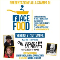 FaceFood, il nuovo format di Lino D'Angiò dedicato al mondo del gusto